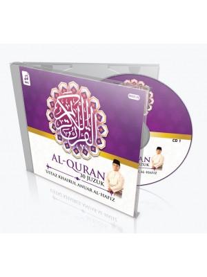 USTAZ KHAIRUL ANUAR – Al-Quran 30 Juzuk (MP3 CD)