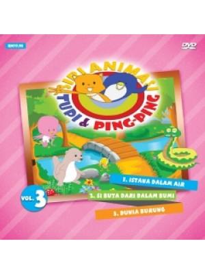 DVD SIRI ANIMASI - Tupi & Ping-Ping Vol. 3