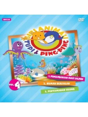 DVD SIRI ANIMASI - Tupi & Ping-Ping Vol. 4