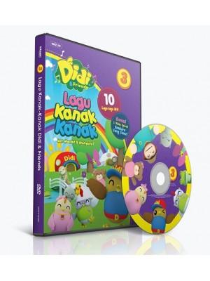 DIDI & FRIENDS – Lagu Kanak-Kanak vol.3 (DVD)