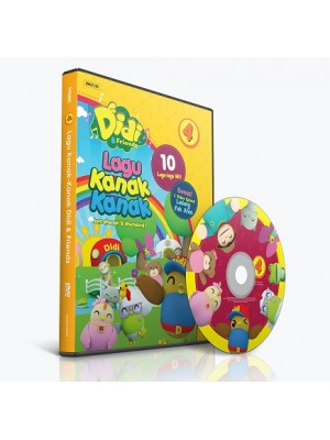 DIDI & FRIENDS – Lagu Kanak-Kanak vol.4 (DVD)