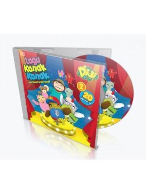 DIDI & FRIENDS – Lagu Kanak-Kanak vol.2 (CD)