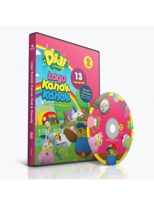 DIDI & FRIENDS – Lagu Kanak-Kanak vol.2 (DVD)