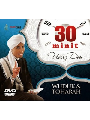 DVD 30 Minit Ustaz Don (Wuduk & Toharah)