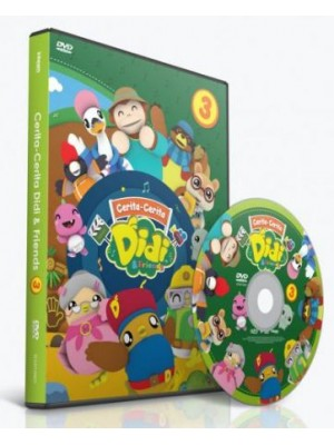 DVD Cerita-Cerita DIDI & FRIENDS vol. 3