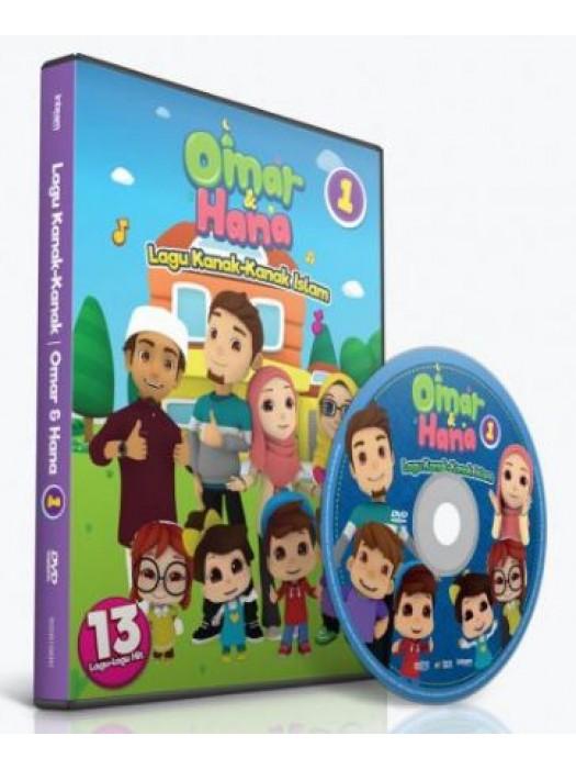 DVD Lagu Kanak-Kanak Islam OMAR & HANA