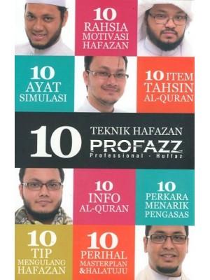 10 Teknik Hafazan PROFAZZ (Professional + Huffaz)