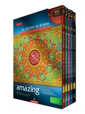 Al-Quran Amazing Per Jilid (Hard Cover) With Box