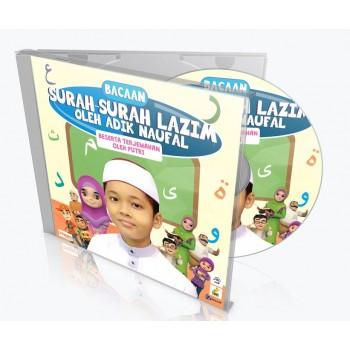 ADIK NAUFAL – Bacaan Surah-Surah Lazim (CD)