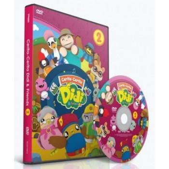 DVD Cerita-Cerita DIDI & FRIENDS vol. 2