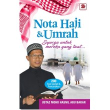 Nota Haji & Umrah