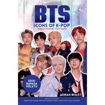 BTS: Icon of K-Pop - Edisi Bahasa Melayu  oleh Zatika Izati Puade, Fatimah Rodhiah Mohd Yusof, Farah Liana Hamdan