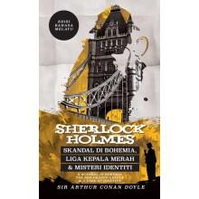 Sherlock Holmes: Skandal di Bohemia, Liga Kepala Merah & Misteri Identiti - Edisi Bahasa Melayu