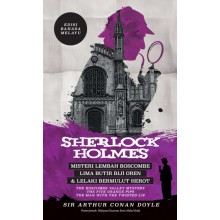 Sherlock Holmes: Misteri Lembah Boscombe, Lima Butir Biji Oren & Lelaki Bermulut Herot - Edisi Bahasa Melayu