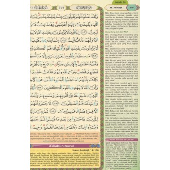 (OFFER) Al-Quran Tajwid & Terjemahan Rasm Uthmani A4