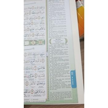 Al Quran Riyadh Perjuzuk Perkata Terjemahan & Tajwid Berwarna Saiz B5