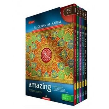 Al-Quran Amazing Per Jilid (Hard Cover) With Box